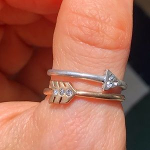 Arrow ring set NWOT
